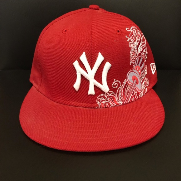 New York Yankees Red New Era Hat